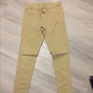 Mossimo Beige Jeggings